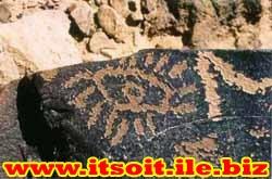 معنی و مفهوم علامت چشم در گنج و دفینه یابی,کارشناسی و تفسیر علائم و نشانه چشم بر روی سنگ
