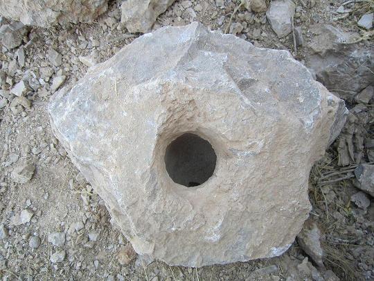 تعدادی جوغن (جوغان و کاسه) بر روی سنگ نشانه چیست؟