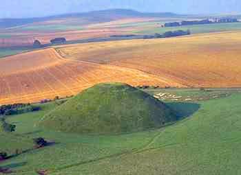 تصاویر و عکسهای تومولوس ها (تپه های خاکی باستانی) و فیلم حفاری تومولوس