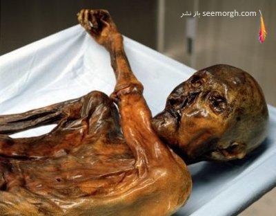 عکسهای اجساد مومیایی برتر و معروف در جهان,مومیایی با هزاران سال قدمت