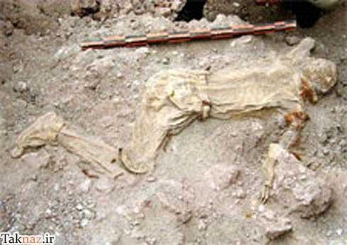 پیدا کردن مومیایی های مردان نمکی در معدن نمک چهرآباد استان زنجان / تصاویر و عکس