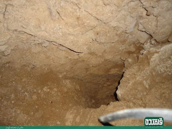 تونل زیرزمینی تاریخی و اسرار آمیز کهندژ - دژ زیرزمینی یا شهر نظامی کهندژ،افسانه یا حقیقت؟,پیدا کردن گنج و دفینه عتیقه زیرخاکی سکه طلا جواهرات