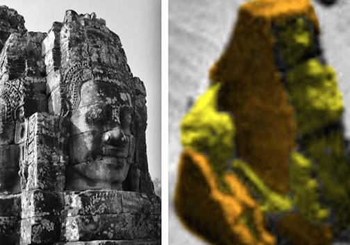 تصاویر و عکسهای کشف معبد باستانی بر روی سیاره مریخ