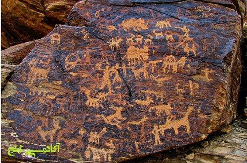 نماد آهو و غزال و گوزن در گنج یابی و دفینه یابی و کارشناسی علائم و نشانه