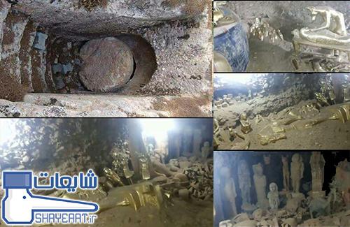 شایعه پیدا شدن گنج در فاروق مرودشت کشف بزرگترین گنج و زیرخاکی در ایران !