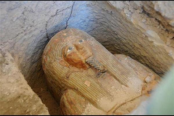 مومیایی های مصر باستان،اهرام و فراعنه قبرها و اجساد مومیایی متعلق به چند هزار سال پیش
