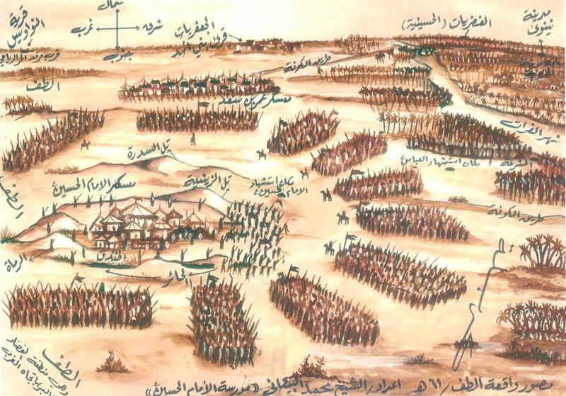 درخواست کمک زعفر جنی رئیس شیعیان جن به امام حسین (ع) در واقعه کربلا