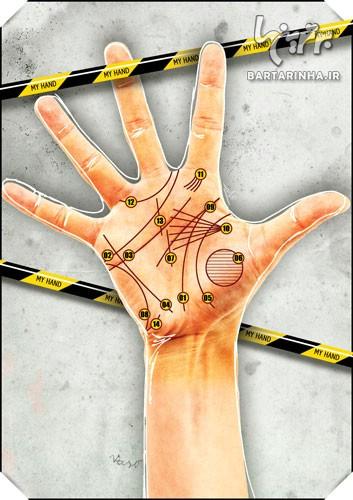آیا خطوط و اشکال روی کف دست انسان با ویژگی های شخصیتی شخص ارتباط دارد؟