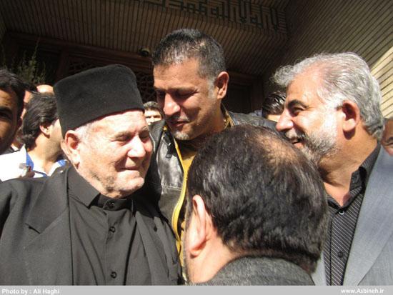 عکس سلفی علی دایی آقای گل جهان و سلیم موذن زاده دو افتخار اردبیل