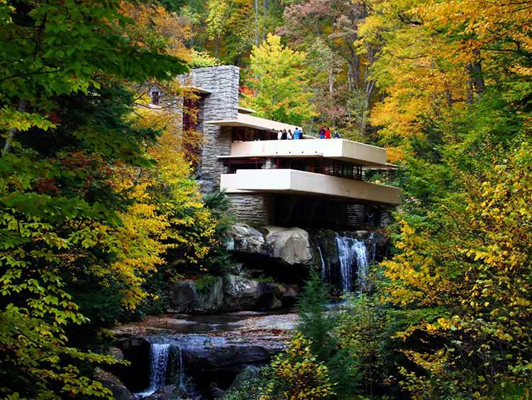 خانهی آبشار