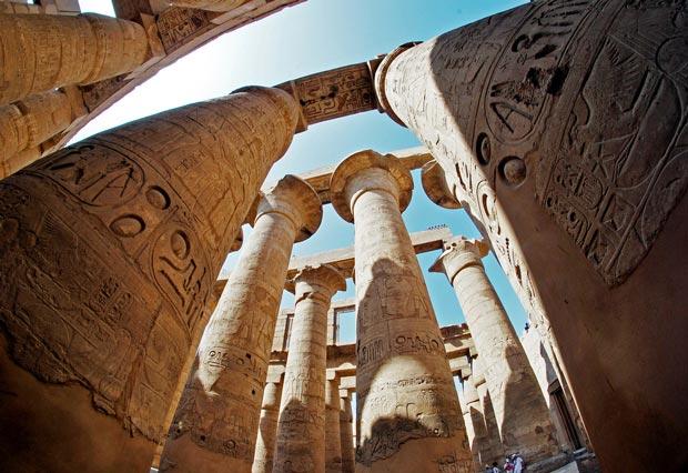 تصاویر و عکسهای معبدهای باستانی شگفت انگیز در مصر باستان (معابد و پرستشگاه)