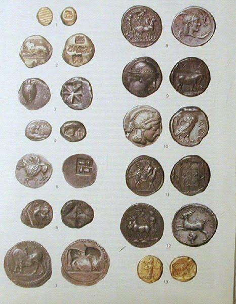 انواع سکه های ایران باستان,روشهای ضرب سکه در ایران باستان