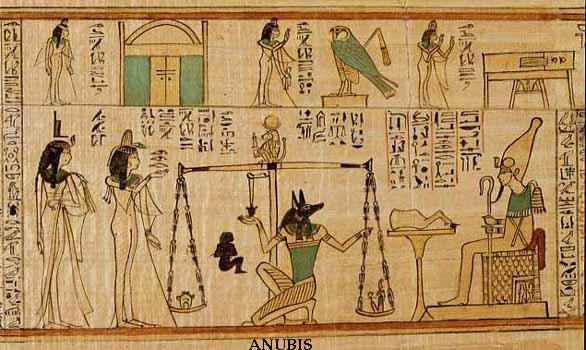 چگونگی ارتباط خدایان مصر با اجرام آسمانی و انوبیس خداوند شغال مصر باستان