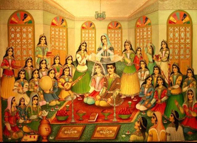 آیین ازدواج و زناشویی پسندیده و خوب در دوران ایران باستان چگونه بوده است ؟