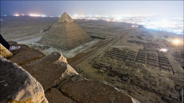 عکسهای زیبا و حیرت انگیز از اهرام بزرگ جیزه مصر که توسط عکاسان و به صورت غیر قانونی گرفته شده است!