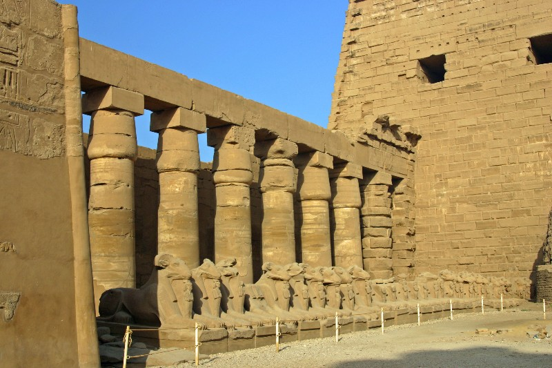 عکس های دیدنی معبد کرنک مصر باستان بزرگترین مکان مذهبی باستانی در جهان