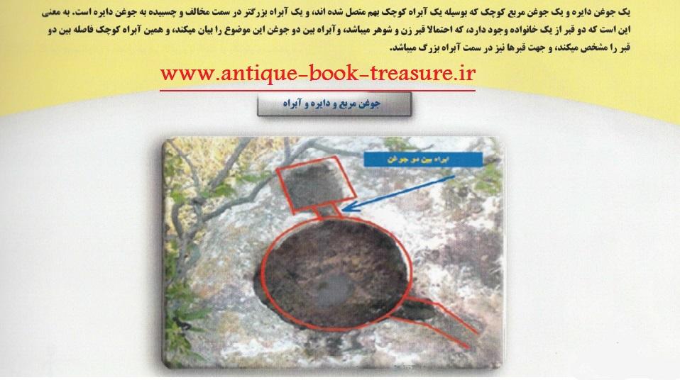 دانلود کتاب آموزش کامل جوغن ها در گنج و دفینه یابی ,کتاب راهنمای رمزگشایی انواع جوغن ها (جوغن بر روی سنگ)