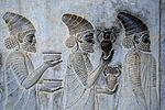 Persepolis stairs of the Apadana relief.jpg