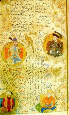 پوست و انواع نوشته ها و نسخه گنجنامه و طلسم بر روی پوست