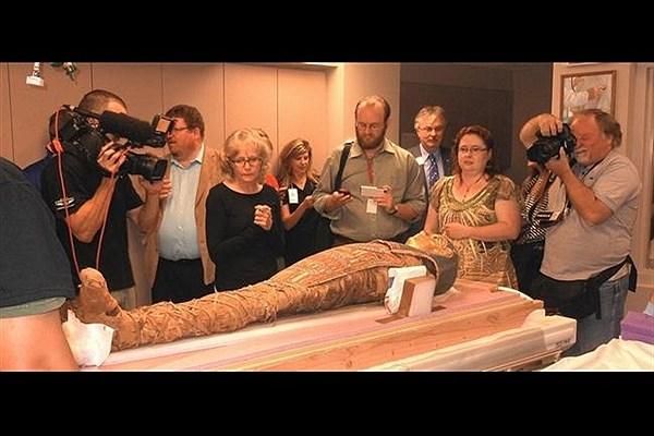کشف اسرار و رازهای مومیایی های مصر باستان با استفاده از سی تی اسکن