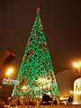 Árbol navideño luminoso en Madrid 02.jpg