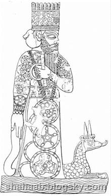 بت مردوک که در منشورش او را مورد پرستش قرار داد.