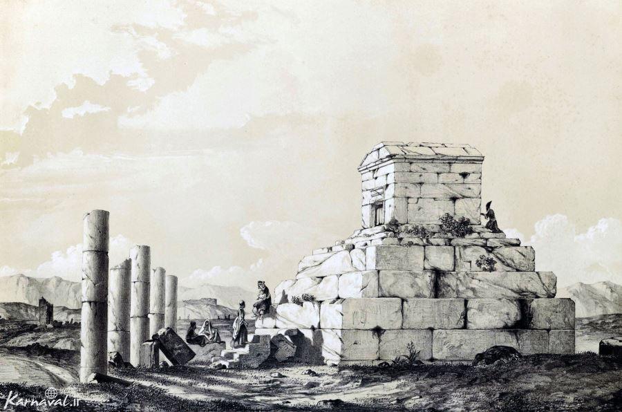 عکسهای با کیفیت بالا از پاسارگاد آرامگاه کوروش بزرگ زندگی کوروش کبیر و مقبره به جامانده از شکوه و قدرت ایران باستان