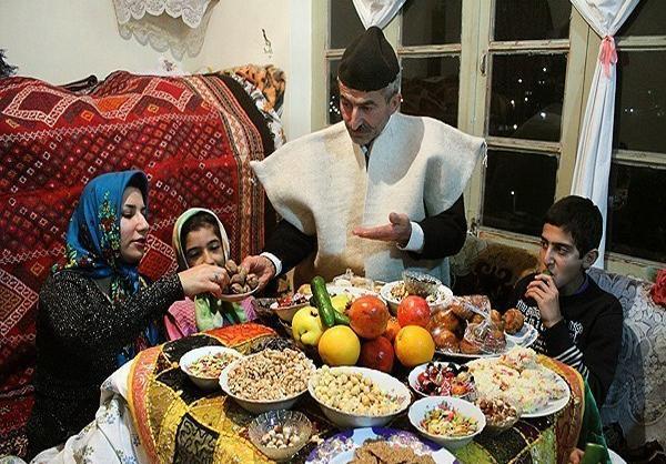 آداب و رسوم شب یلدا یا شب چله بلندترین شب سال در ایران