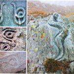 تفسیر نشانه مار بر روی سنگ های باستانی و پیدا کردن گنج