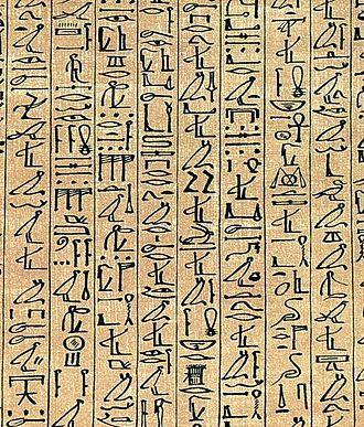 انواع خط و نوشتار و استفاده از خطوط تصویری برای نوشتن در دوران باستان