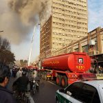 تصاویر و عکسهای فرو ریختن ساختمان پلاسکو در تهران و آتش سوزی در برج پلاسکو + علت و دلیل و فیلم و کلیپ