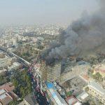 گزارشی از آتش سوزی و تخریب ساختمان پلاسکو – تهران آمادگی برای مقابله با بحران را ندارد