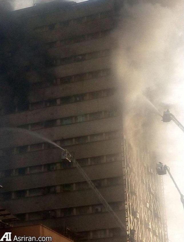 نکاتی درباره آتش سوزی ساختمان پلاسکو (امکانات ضعیف اطفای آتش سوزی در تهران)