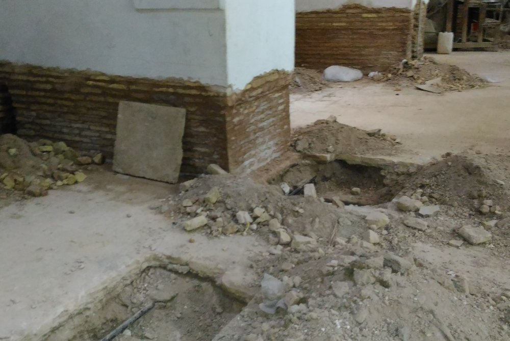 کشف گنج تاریخی در اصفهان تونل طاق چشمهای باستانی در زیر مسجد