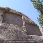 سنگ نوشته های گنج نامه در کوه الوند همدان کتیبه های گنج نامه یادگاری از دوران داریوش و خشایارشاه هخامنشی