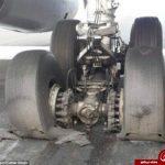 ترکیدگی تایر لاستیک هواپیمای مشهد به اردبیل,هواپیمای بویینگ ۷۳۷ از شرکت هواپیمایی تابان با مقصد مشهد به اردبیل