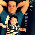 حمید عسکری مهمان برنامه خندوانه بیوگرافی و عکسهای حمید عسکری و همسرش و پسرش