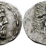 سکه های دوره اشکانیان,نقوش روی سکه های اشکانی,ضرب سکه های اشکانی در ضرابخانه