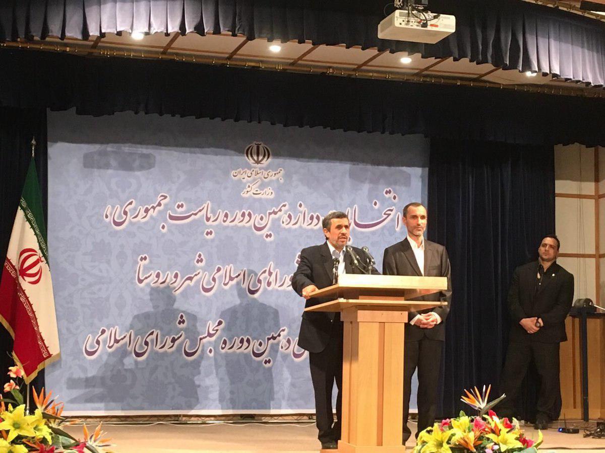 احمدینژاد کاندیدای ریاست جمهوری شد!/ زریبافان و بقایی ثبتنام کردند/حرفهای احمدینژاد بعد از ثبتنام