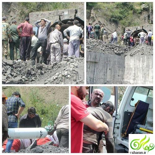 خبرهای جدید از انفجار در معدن گلستان و تعداد کشته و مصدومان کارگران انفجار معدن