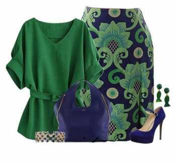 رنگ سبز رنگ سال برای خانوم ها در سال ۲۰۱۷