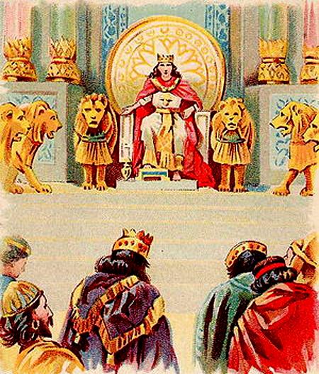 داستان جالب حضرت سلیمان با هدهد و ملکه سبا