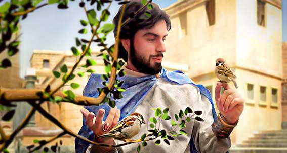ماجرای حرف زدن حضرت سلیمان نبی (ع) با حیوانات و پرندگان
