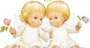 دو فرشته نگهبانی که روی شانه راست و چپ انسان هستند چه نام دارند ؟