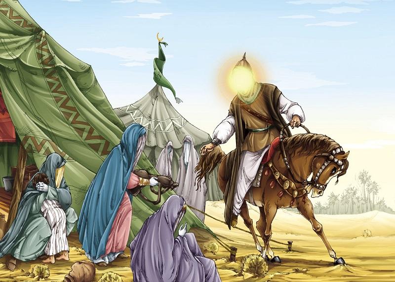 خصوصيات و ویژگی های اخلاقی و سيره رفتاری امام حسين (ع) چگونه بود ؟