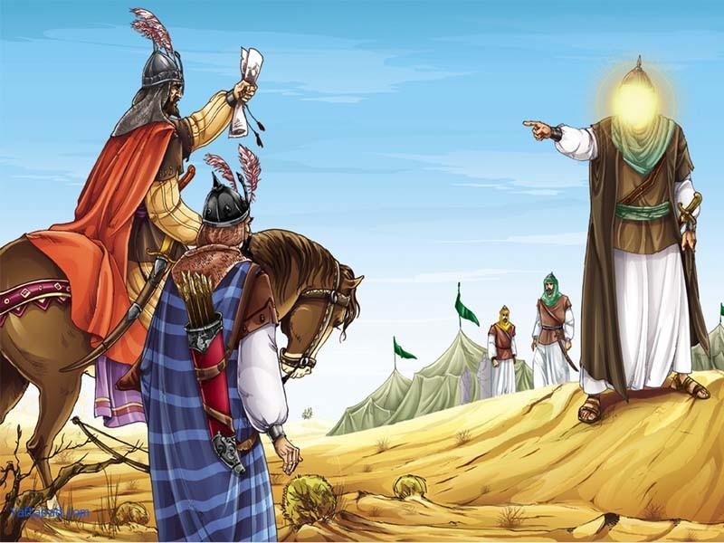 چگونگی نامگذاری امام حسین توسط حضرت محمد (ص)